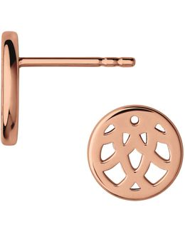 Timeless 18k Rose Gold Earrings