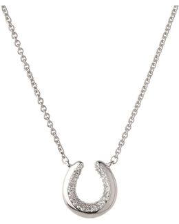 Ascot Horseshoe Necklace