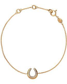 Ascot Horsehoe Bracelet