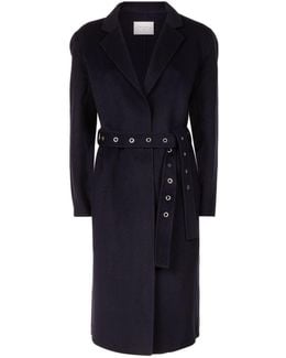 Longline Waist Belt Coat