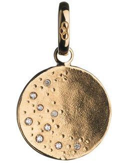 Watch Over Me Moon 18ct Gold Charm