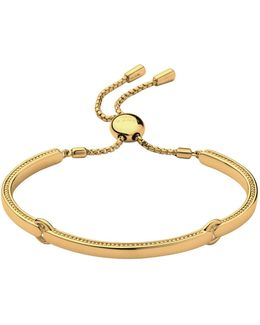Narrative Yellow Gold Bracelet