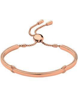 Narrative Rose Gold Bracelet
