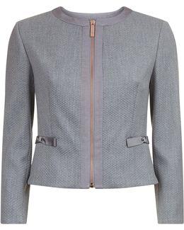 Nadae Bow Pocket Jacket