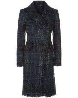 Frayed Boucl Coat
