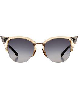 Iridia Cat Eye Sunglasses