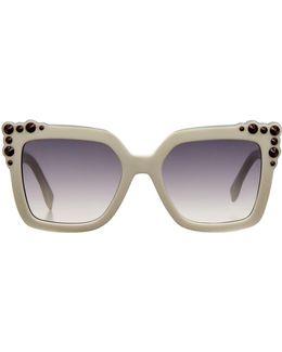 Can Eye Oversized Sunglasses