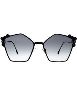 Can Eye Pentagon Sunglasses