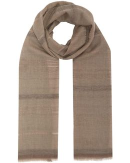 Open Weave Cashmere Scarf