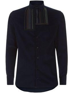 Stripe Corduroy Shirt