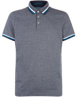 Bates Flat Knit Polo Shirt