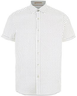 Textured Geo Shirt
