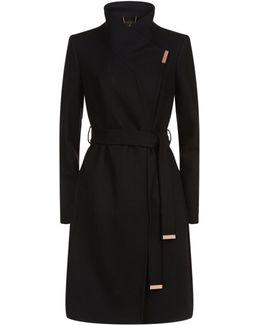 Kikiie Wool Cashmere Coat