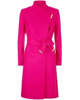 Kikiie Wrap Coat