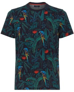Kaane Parrot Print T-shirt
