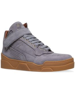 Tyson Nubuck Mid-top Sneakers