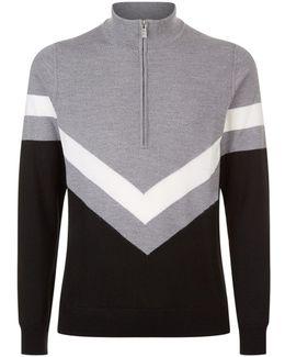 Marten Half Zip Sweater