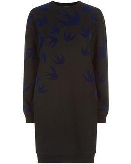 Swallow Sweatshirt Dress