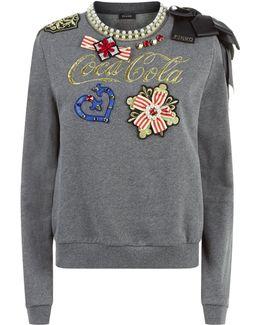 Appliqu Sweater