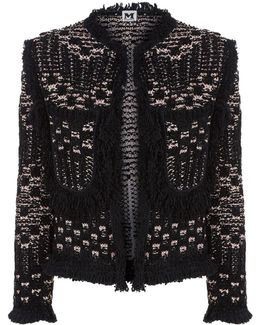 Crop Knitted Jacket