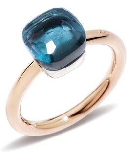 Nudo London Blue Topaz Petite Ring