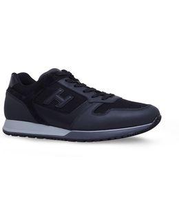 Suede H321 Runner Sneakers