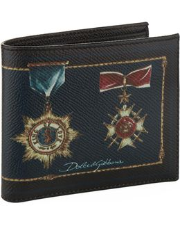Military Medal Bifold Wallet