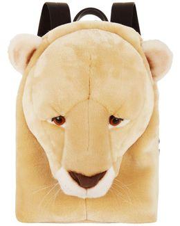 Lion Head Backpack