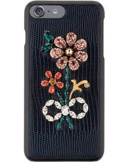 Embellished Floral Iphone 7 Plus Case