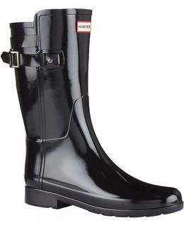 Original Refined Back Strap Wellington Boots
