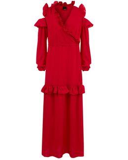 Crepe Maxi Dress