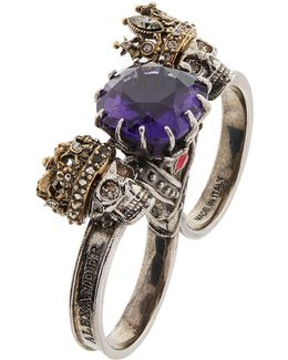 Double King And Queen Ring