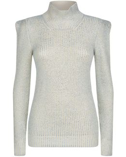 Knitted Wool Turtleneck Sweater