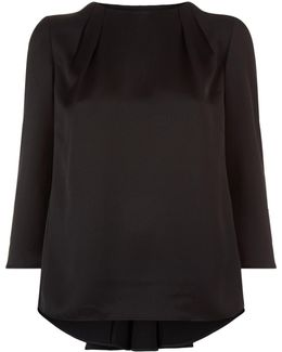 Haanaah Pleated Top