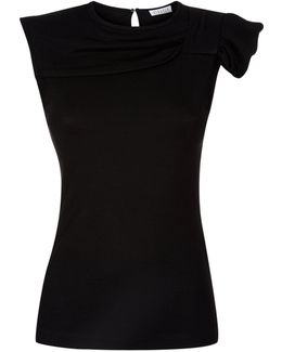 Tchica Side Knot Knit Top