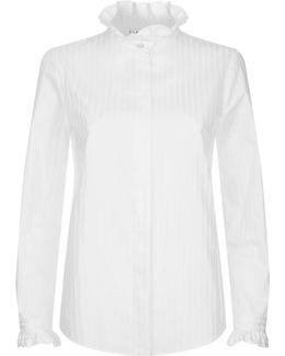 Colombine Ruffled Collar Shirt