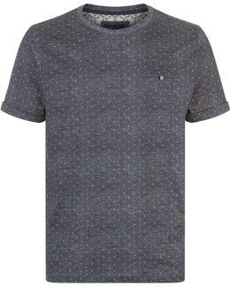 Giovani Dot Print T-shirt