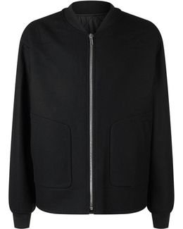 Reversable Quilted Bomber Jacket