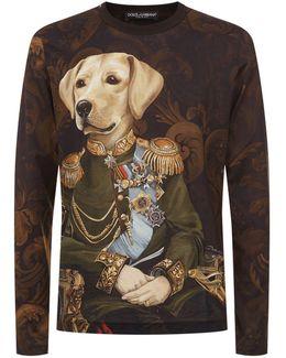 Long-sleeved Dog T-shirt