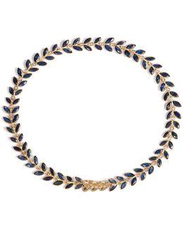 Sapphire Vine Bracelet