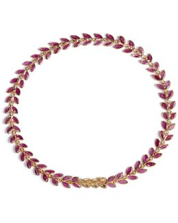 Ruby Vine Bracelet