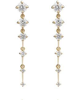 Sequence Short Drop Earrings