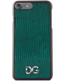 Embellished Logo Iphone 7 Case