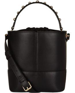 Embellished Bucket Bag