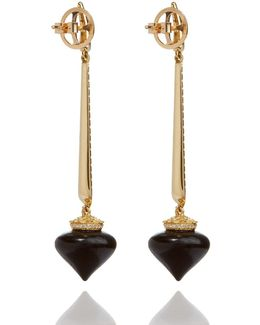 Touch Wood Ebony Drop Earrings