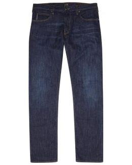 J45 Blue Slim-leg Jeans - Size W36/l32