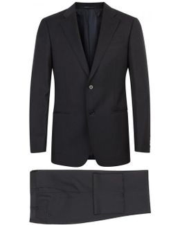 G-line Navy Wool Suit - Size 46