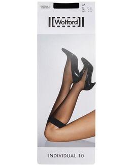 Individual 10 Denier Knee-high Socks - Size M