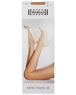 Satin Touch Gobi 20 Denier Socks - Size M