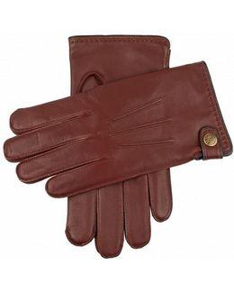 Salisbury Brown Leather Gloves